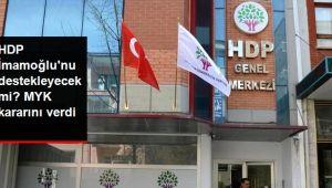 HDP, 23 Haziran Seçimlerinde Ekrem İmamoğlu'nu Destekleme Kararı Aldı