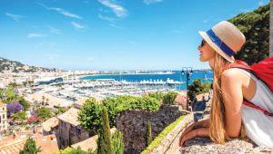 Hedef 'Cannes'ın turistleri