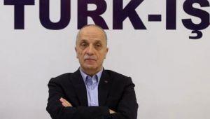 Türk-İş Başkanı Ergün Atalay, kıdem tazminatıyla ilgili 81 ilde miting yapabileceklerini söyledi