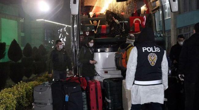 Yurtdışından gelen 965 öğrenci karantinaya alındı