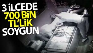 İstanbul'da kuyumcu soyguncuları kamerada