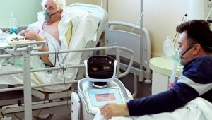 Robotlar günde 3 bin corona virüs testi yapacak