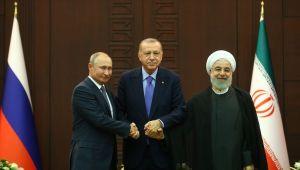 Cumhurbaşkanı Erdoğan, Putin ve Ruhani yarın Suriye'yi görüşecek