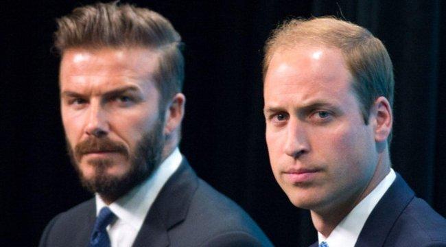 David Beckham ve Prens William'dan 'mental sağlık' kampanyası