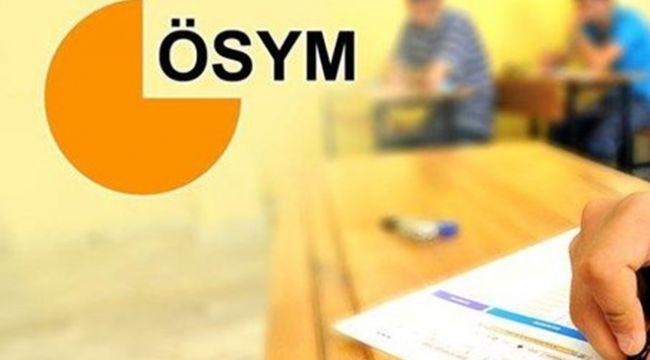 ÖSYM Başkanı Aygün'den pandemi döneminde uygulanacak sınavlara ilişkin açıklama