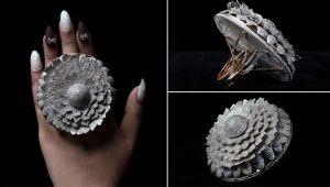 12 bin 638 elmaslı yüzük Guinness Rekorlar Kitabı'nda!