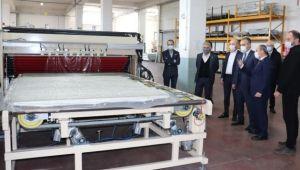 Bursa'dan 130 ülkeye ihracat yapan fabrikaya ziyaret