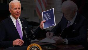 Son dakika... ABD Başkanı Joe Biden'dan kritik açıklamalar: Koronavirüsle mücadelede eylem planını ortaya koydu
