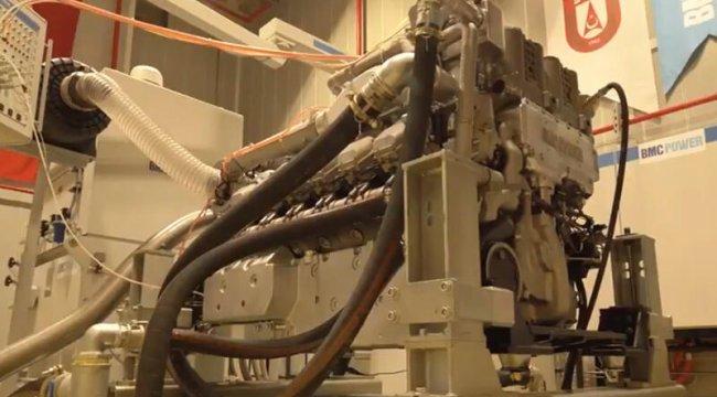 İlk motor BATU'nun ateşlemesi başarılı şekilde gerçekleşti