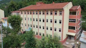 KASTAMONU - Sel felaketinin yaşandığı Bozkurt'ta okullar eğitim öğretime hazırlanıyor