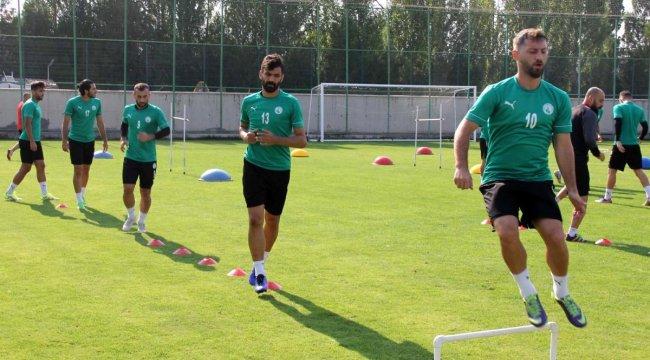 Sivas Belediyespor'da Turgutlu maçı hazırlıkları sürüyor